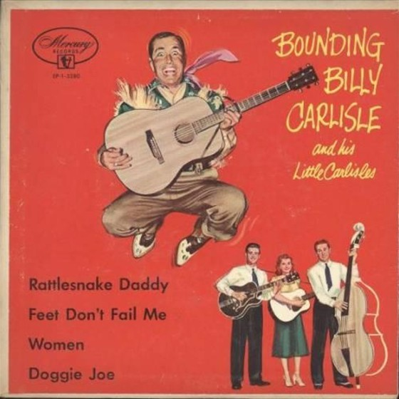 Bounding Billy Carlisle and his Little Carlisles