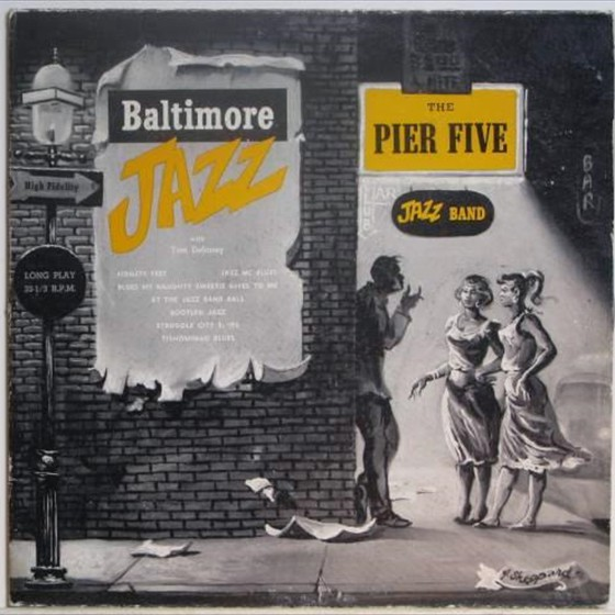 The Pier Five Jazz Band - Baltimore Jazz